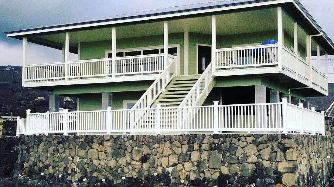General Contractor Big Island Kona Home Builder Custom Homes Island Home Builders Inc. Big Island Construction Remodel Pools Flooring Renovation Excavation Rock Walls Kitchen Cabinets